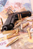 26种罪行枪 免版税图库摄影