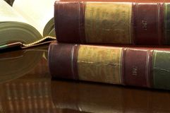 26 βιβλία νομικά Στοκ Εικόνα