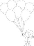26 малышей расцветки книги Стоковое Изображение RF