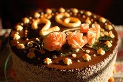 26 födelsedag cake Fotografering för Bildbyråer