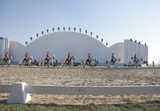 26 hingstar för show för bahrain lipizzanernov sakhir Royaltyfria Foton