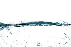 26 kropli wody. Zdjęcie Royalty Free