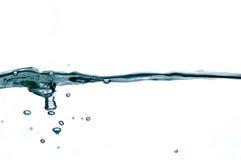 26 kropli wody. Fotografia Royalty Free