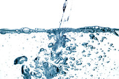 26 kropli wody. Obrazy Royalty Free