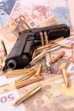 26 przestępstwa pistolet Fotografia Royalty Free