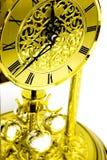 时钟金子 库存图片