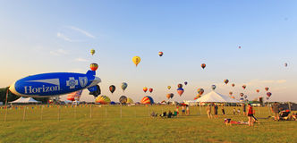 The 26th Annual New Jersey Balloon Festival Stock Image