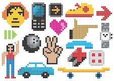 27创造性的集 免版税库存图片