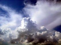 27朵云彩天空 库存照片