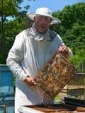 27蜂农 免版税库存图片