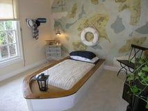 27 łóżek luksusu pokój Zdjęcia Stock