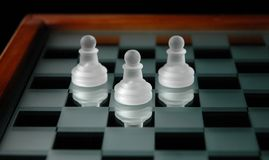 27 частей шахмат Стоковое фото RF