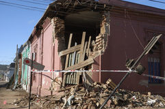 27 2010 chile jordskalv februari Royaltyfria Foton