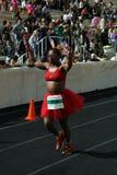 27. Athen-klassische Marathon-Momente Lizenzfreie Stockfotografie