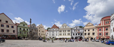 27 cesky捷克7月krumlov共和国 图库摄影