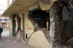 27 Chile 2010 trzęsień ziemi Luty Zdjęcie Stock