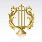 27 Lyre Royalty Free Stock Image