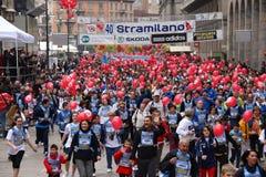 27 mars 2011 - édition de 40 ° du Stramilano Image stock
