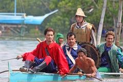 27 sa празднества 2009 -го в апреле kadaguan mactan Стоковое Изображение