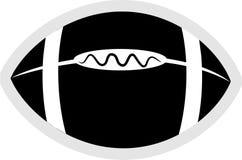 橄榄球图标 皇族释放例证