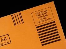 没有需要邮费 免版税库存图片
