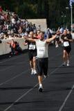 27mo Momentos clásicos del maratón de Atenas Foto de archivo libre de regalías