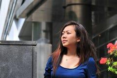 28个亚洲人夫人办公室 免版税库存照片