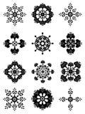 28 φανταχτερός floral διακοσμητ& Στοκ Εικόνες