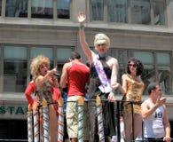 28 2009 Czerwiec marszu nyc duma Zdjęcie Stock
