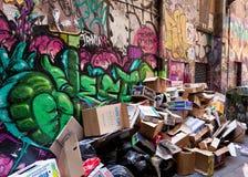 28 2010 śmieciarskich Styczeń Melbourne Obrazy Stock