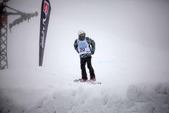 28 comp marszu quiksilver jazda na snowboardzie Vancouver Fotografia Stock