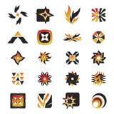 28 ikon wektorowych elementów Zdjęcia Royalty Free