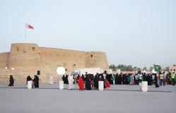 28 Kwiecień Bahrain festiwalu dziedzictwo Manama Fotografia Stock