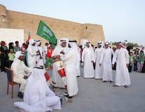 28 Kwiecień Bahrain festiwalu dziedzictwo Manama Fotografia Royalty Free