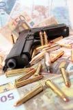 28 przestępstw pistolet Obrazy Stock