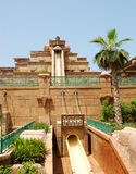 28 uae aquaventure waterpark Dubai waterpark obraz stock