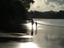 海滩沉寂 免版税库存照片