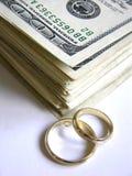 消耗大的婚礼 图库摄影