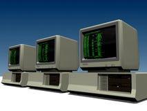 286 komputerów osobistych Obraz Stock