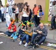 28th august kull för karneval som 2011 notting Royaltyfria Foton