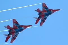 29 воиск mig самолет-истребителей Стоковые Изображения RF