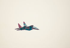 29 aerobatics demonstrują mig strizhi Obrazy Stock