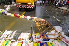 29 DE OCTUBRE: No identificado del dist de Dusit de Bangkok Imagen de archivo libre de regalías