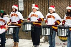29. Jährliche Weston Weihnachtsmann Parade Lizenzfreies Stockfoto