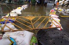29. OKTOBER: Nicht identifiziert Bangkoks Dusit vom dist Stockfoto