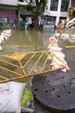 29. OKTOBER: Nicht identifiziert Bangkoks Dusit vom dist Stockfotos