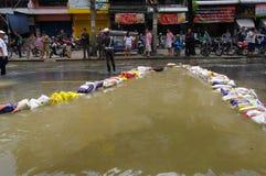29. OKTOBER: Nicht identifiziert Bangkoks Dusit vom dist Lizenzfreie Stockbilder