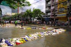 29. OKTOBER: Nicht identifiziert Bangkoks Dusit vom dist Lizenzfreie Stockfotos