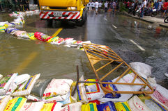 29 OTTOBRE: Non identificato del dist di Dusit di Bangkok Immagine Stock Libera da Diritti