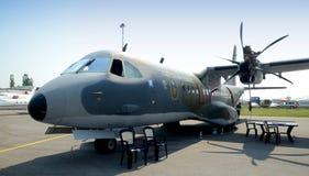 295m c住处涡轮螺旋桨发动机孪生 库存照片